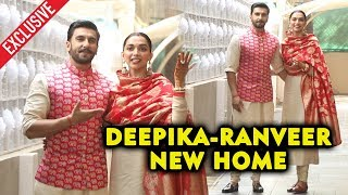 Deepika Padukone And Ranveer Singh At Their NEW HOME After Marriage | Exclusive Footage