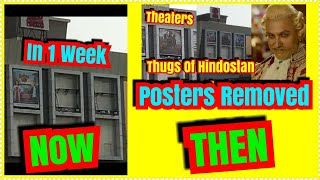 Thugs Of Hindostan Posters Removed From This Mumbai Theater In 1 Week l Never Imagined