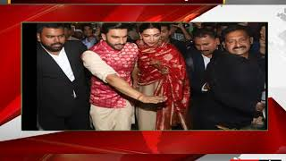 Deepika Padukone Ranveer Singh return to Mumbai after their wedding in Lake Como, Italy