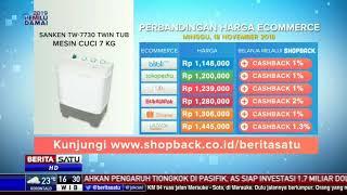 Perbandingan Harga e-Commerce: Sanken Tw-7730 Twin Tub Mesin Cuci 7 Kg