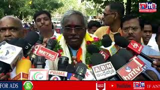 SERILINGAMPALLY BJP MLA CANDIDATE YOGANANDA FILES NOMINATION