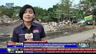 Pembangunan Depo Sampah di Koja Gunakan Dana CSR