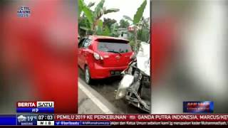 Truk Pengangkut Alat Berat Sebabkan Insiden Kecelakaan Beruntun di Samarinda