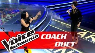 PECAH! Coach Anggun Duet Dengan Rambu | COACH DUET | The Voice Indonesia GTV 2018