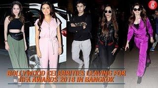 Bollywood Celebrities Leaving For IIFA Awards 2018 In Bangkok | IIFA Awards 2018