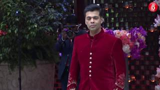 Anant Ambani & Karan Johar arrive at Antilia for Akash Ambani & Shloka Mehta's Engagement!