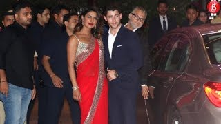 Priyanka Chopra and Nick Jonas Attends Akash Ambani's Engagement