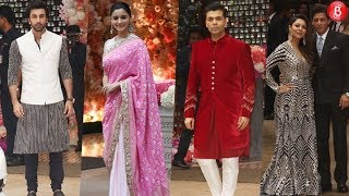 Bollywood Stars Attends Akash Ambani's Engagement Bash