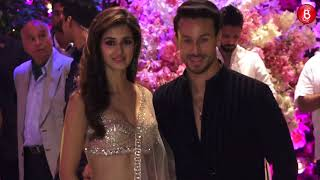 Tiger Shroff and Disha Patani Attends Akash Ambani's Engagement Bash