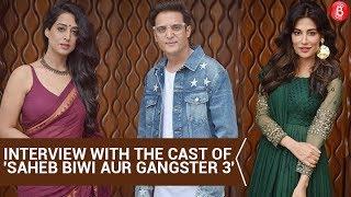 Jimmy Shergill, Chitrangada Singh and Mahie Gill at 'Saheb Biwi Gangster 3' press conference