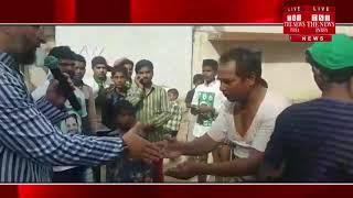 हैदराबाद में इन दिनों चुनावी दौर चल रहा है, इसी के चलते AIMIM के विधायक ने पैदल दौरा किया