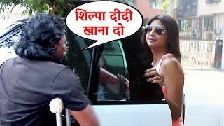 Beggar Asks For Food From Shilpa Shetty, What Happens Next Will SHOCK You