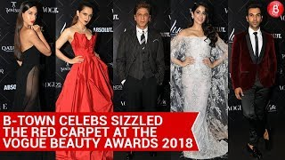 B-Town celebs sizzled the red carpet at the Vogue Beauty Awards 2018