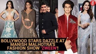 Janhvi Kapoor, Ishaan Khatter, Sara Ali Khan & Others Attend Manish Malhotra's Fashion Show 'Zween'.