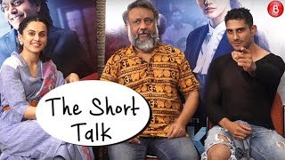 Anubhav Sinha, Taapsee Pannu and Prateik Babbar get candid about 'Mulk' Movie | Bollywood