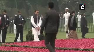 Indira Gandhi birth anniversary: Rahul, Sonia Gandhi, Congress leaders pay tribute