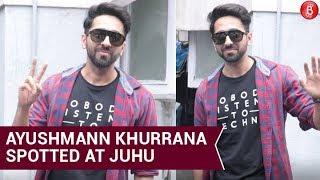 Ayushmann Khurrana spotted at Juhu | Bollywood