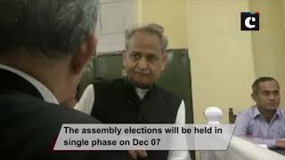 Rajasthan polls: Ashok Gehlot files nomination from Sardarpura seat in Jodhpur