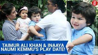 Taimur Ali Khan & Inaaya Naumi Kemmu's Play Date Is Too Cute For Words!
