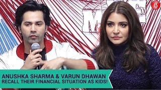 Anushka Sharma & Varun Dhawan Get Nostalgic About Their Financial Struggle