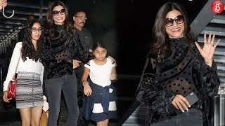Sushmita Sen's Daughter Renee Avoids Posing For The Paparazzi