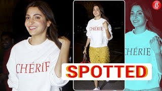 Anushka Sharma Keeps It Stylish At The Airport | Airport Spotting