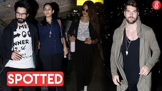 Shahid Kapoor's Movie Date With Mira | Jacqueline Fernandez & Nick Bateman Spotted At The Airport