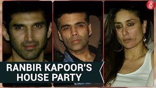 Kareena Kapoor, Karan Johar, Aditya Roy Kapoor Attend Ranbir Kapoor's House Party!