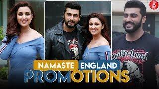 Arjun Kapoor & Parineeti Chopra's Stylish Statement For 'Namaste England' Promotions!