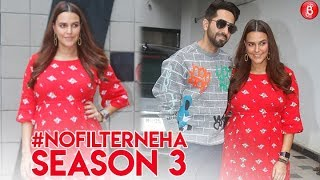 Neha Dhupia and Ayushmann Khurrana kick-start #NoFilterNeha Season 3