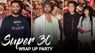 Hrithik Roshan & Team Wrap Up 'Super 30' With A Party!