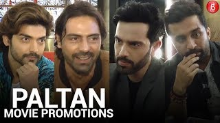 Arjun Rampal's FUNNY Interview Along With 'Paltan' Cast At INOX!