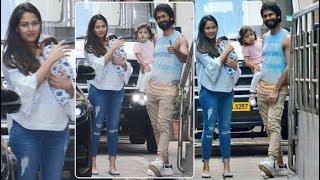 Shahid Kapoor & Mira Rajput take their baby boy Zain Kapoor home