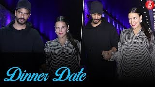 Neha Dhupia & Angad Bedi spotted post their dinner date at Hakkasan Restaurant