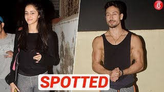 Tiger Shroff & Ananya Panday Spotted Outside Dance Class!