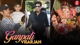 Jeetendra, Ekta Kapoor & Tusshar Kapoor Bid Goodbye To Lord Ganesha!