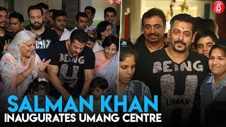 Salman Khan inaugurates Umang Centre for differntly-abled children in Jaipur
