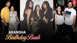 Neha-Angad, Alia Bhatt and other celebs party hard at Akansha Ranjan's Birthday Bash