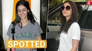 Alia Bhatt, Ananya Panday and other celebs spotted in and around the city