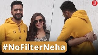 Neha Dhupia & Vicky Kaushal Spotted On 'No Filter Neha' Set!