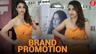 Soha Ali Khan at the launch of Bio-Oil Coffee Table Book 'Unstretched Journey'
