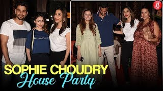 Soha Ali Khan, Neha Dhupia and others at Sophie Choudry's house party