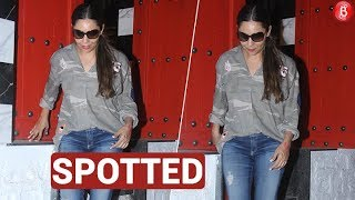 Shah Rukh Khan's wife Gauri Khan in no mood to pose for the Paparazzi