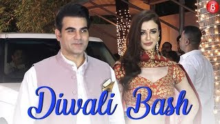Arbaaz Khan with his Girlfriend Georgia Andriani at Shilpa Shetty's Diwali Party