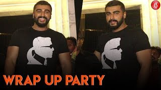 Arjun Kapoor Attends Wrap Up Party Of India's Most Wanted