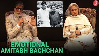 Amitabh Bachchan Gets Emotional While Talking About His Father Harivansh Rai Bachchan