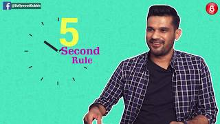 'Tumbbad' actor Sohum Shah plays a fun game of '5 Second Rule' with Bollywood Bubble