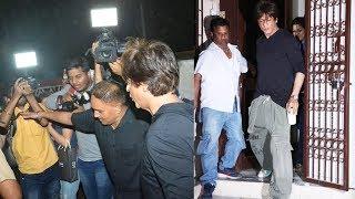 Shahrukh Khan Spotted Post  Dubbing For ZERO At Shankar Mahadevan's Dubbing Studio