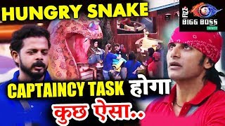 HUNGRY SNAKE Captaincy Task TEAMS And FULL Details | Bigg Boss 12 Latest Update