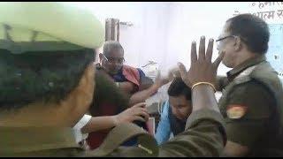 भाजपा विधायक के पति की गुंडई, दलित तहसीलदार को चैंबर में घुसकर जड़ा थप्पड़,भद्दी गालियां दे पकड़ा कालर